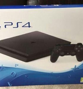 PS4 Slim новая Ростест
