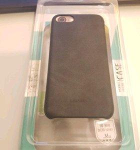 Кожаный чехол для iPhone 7