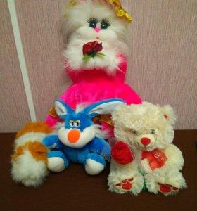 Мягкие игрушки отдам