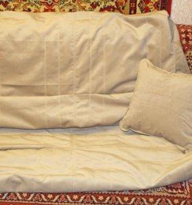 сошьём и установим новый чехол на диван или кресло
