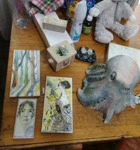Скульптура Осьминог