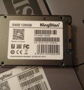 SSD 120Gb новые