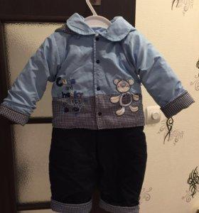 Детский костюм на холодное лето