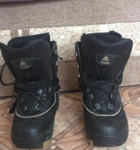 Ботинки сноубордические взрослые