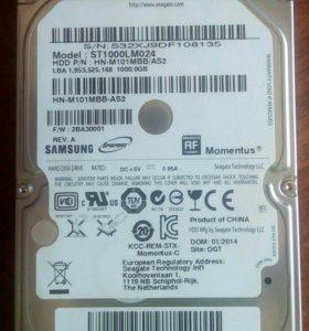 Жесткий диск для ноутбука 1 Тб