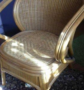 Кресло бамбуковое