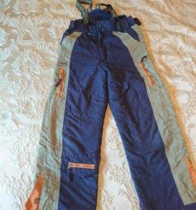 Штаны лыжные р 130-140
