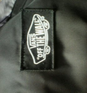 """Портфель, рюкзак VANS """"OFF TNE WALL"""""""