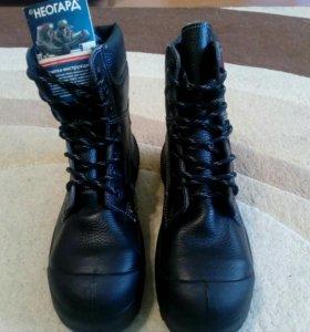 Ботинки натур.мех новые торг