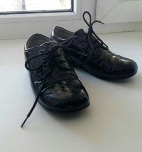 Туфли для мальчика размер 28