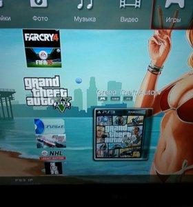 Sony PlayStation 3 + Куча игр.