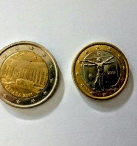Монеты Евро юбилейные