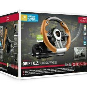 Игровой руль с педалями Speedlink Drift O.Z.
