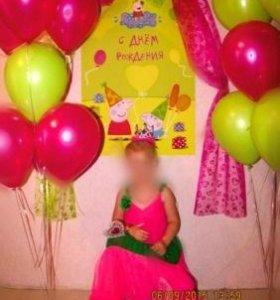 Плакат на день рожденье Свинки Пеппы