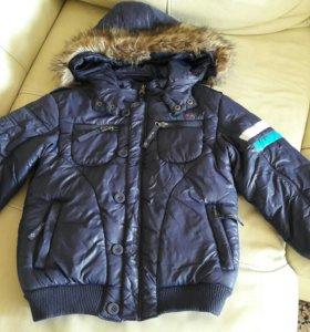 Куртка демисезонная на мальчика рост 116-125
