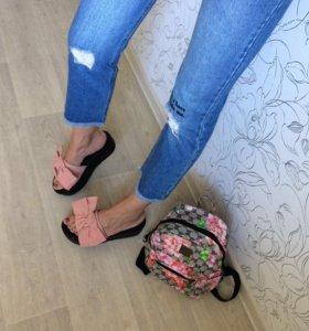Новая обувь/Джинсы/Рюкзак