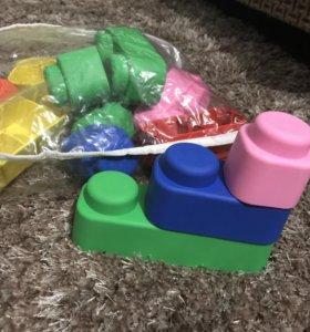 Мягкий конструктор для малыша