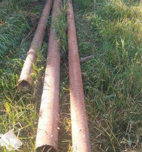 Труба, две трубы - 80.мм.  длина одной трубы 4.5м.