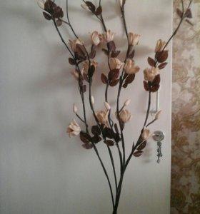 Цветы исскуственные 5 шт.
