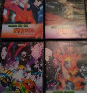 DVD Диски НАРУТО 6 дисков.