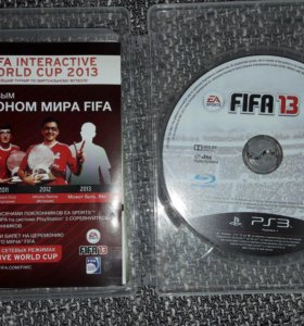 Диск fifa 13 (PS3)