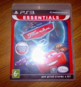 Диск на PS3 тачки 2