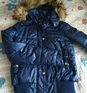 куртка бомбер, зима-осень