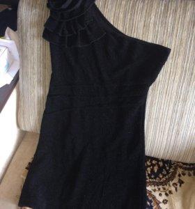 Чёрное платье 44-46
