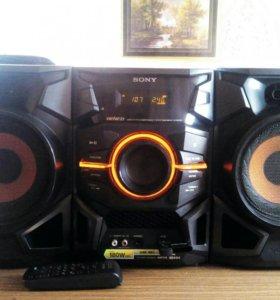Hi-Fi минисистема Sony. Usb, Cd, Mp3, Aux. 180 Wat
