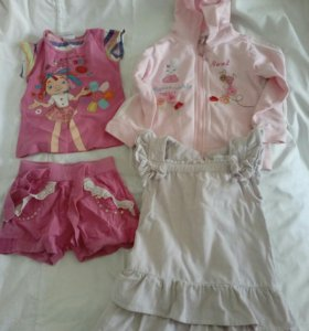 Набор одежды для девочки 4-5 лет