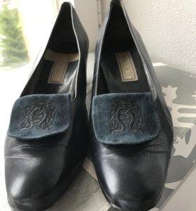 Туфли женские синие Picardi