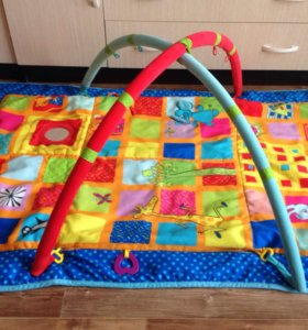 Развивающий коврик без игрушек