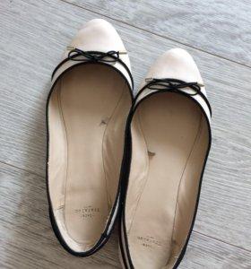 Zara trafaluc балетки