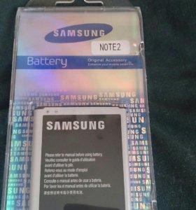 Аккумулятор на Самсунг гелакси ноут 2