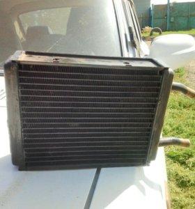 Радиатор отопитель печки