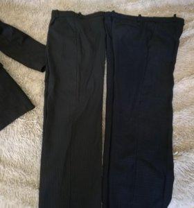 Пиджак и брюки школьные+ рубашки в подарок