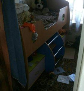 Кровать в разобранном виде