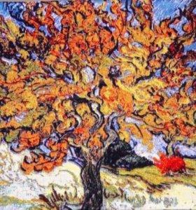пано Ван Гог дерево гобелен