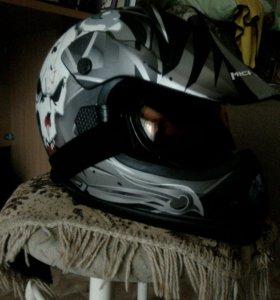 Кросс шлем