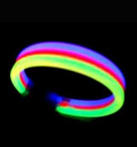 Светящийся 3-х цветный браслет