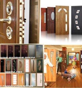 Двери Ла стелла со стеклом