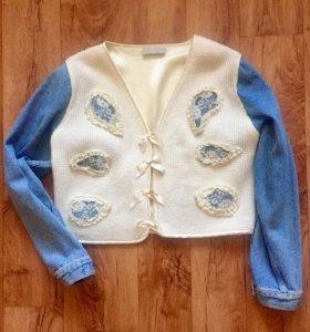 Джинсовая куртка (пиджак)
