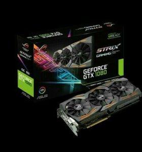 Asus GeForce rog srtix gtx 1080 a8g 11gbps