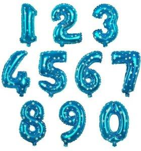 Воздушные шар Цыфра на праздник от 0 до 9