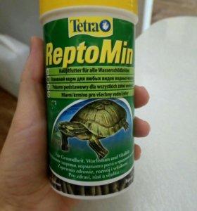 Корм для черепах Reptomin