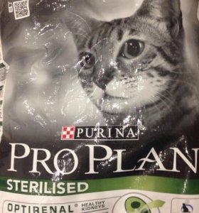 Сух.корм Proplan для котов и кошек за 1 кг.