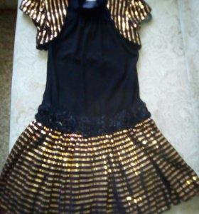Платье очень оригинально смотрится могу привезти к