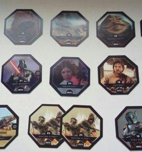 Карточки Star Wars Звездные войны