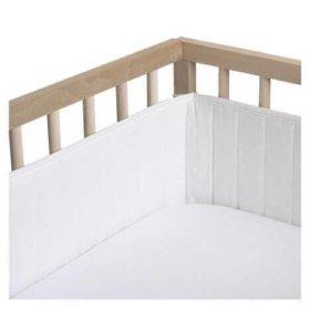 Бортик бампер Икеа в детскую кроватку