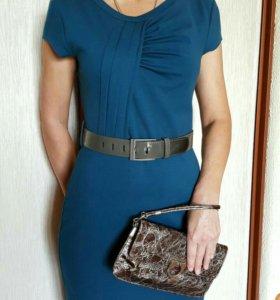 Платье трикотажное (комплект)